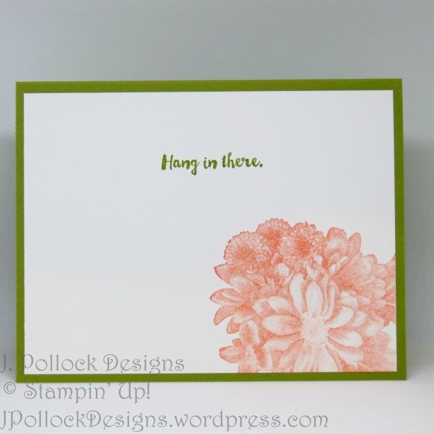 J. Pollock Designs - Stampin' Up! - Heartfelt Blooms, Here For You