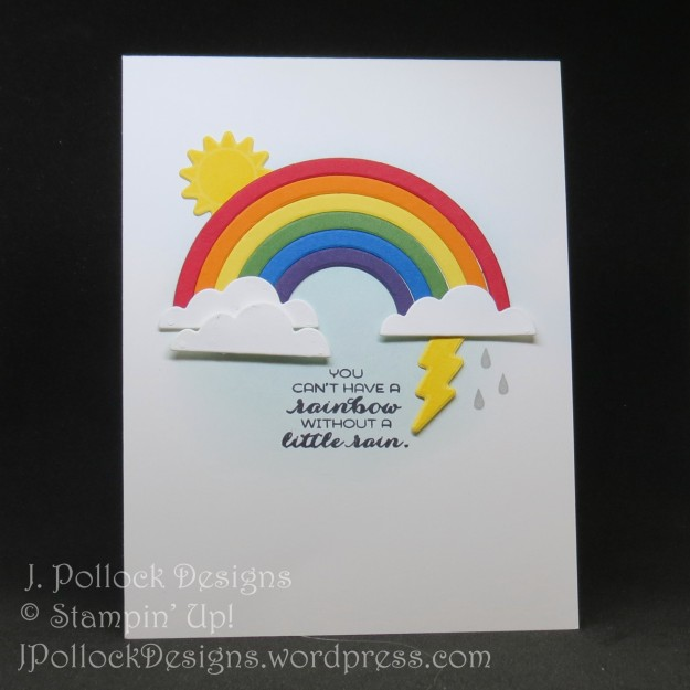 J. Pollock Designs - Stampin' Up! - Sunshine & Rainbows