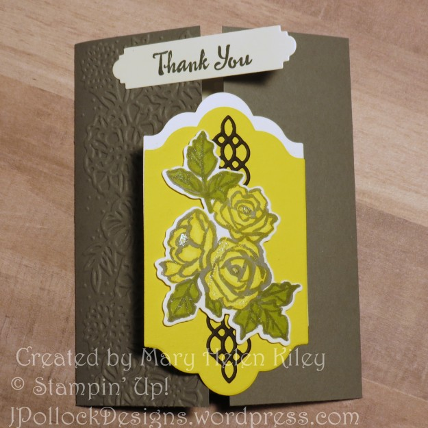 J. Pollock Designs - Stampin' Up! - Mary Hellen Kiley