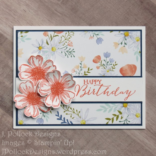 J. Pollock Designs - Stampin' Up! - Flower Shop, Butterfly Basics