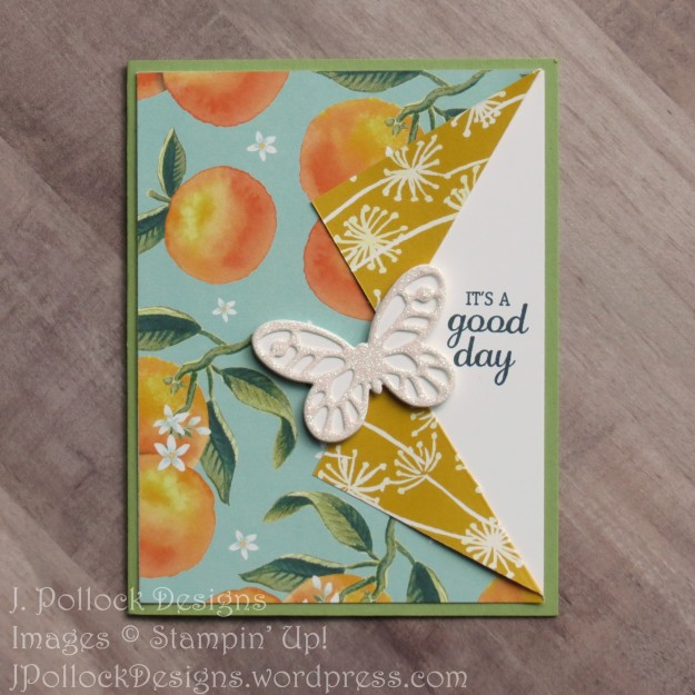 J. Pollock Designs - Stampin' Up! - Best Birds, Bold Butterfly Framelits, Butterflies Thinlets