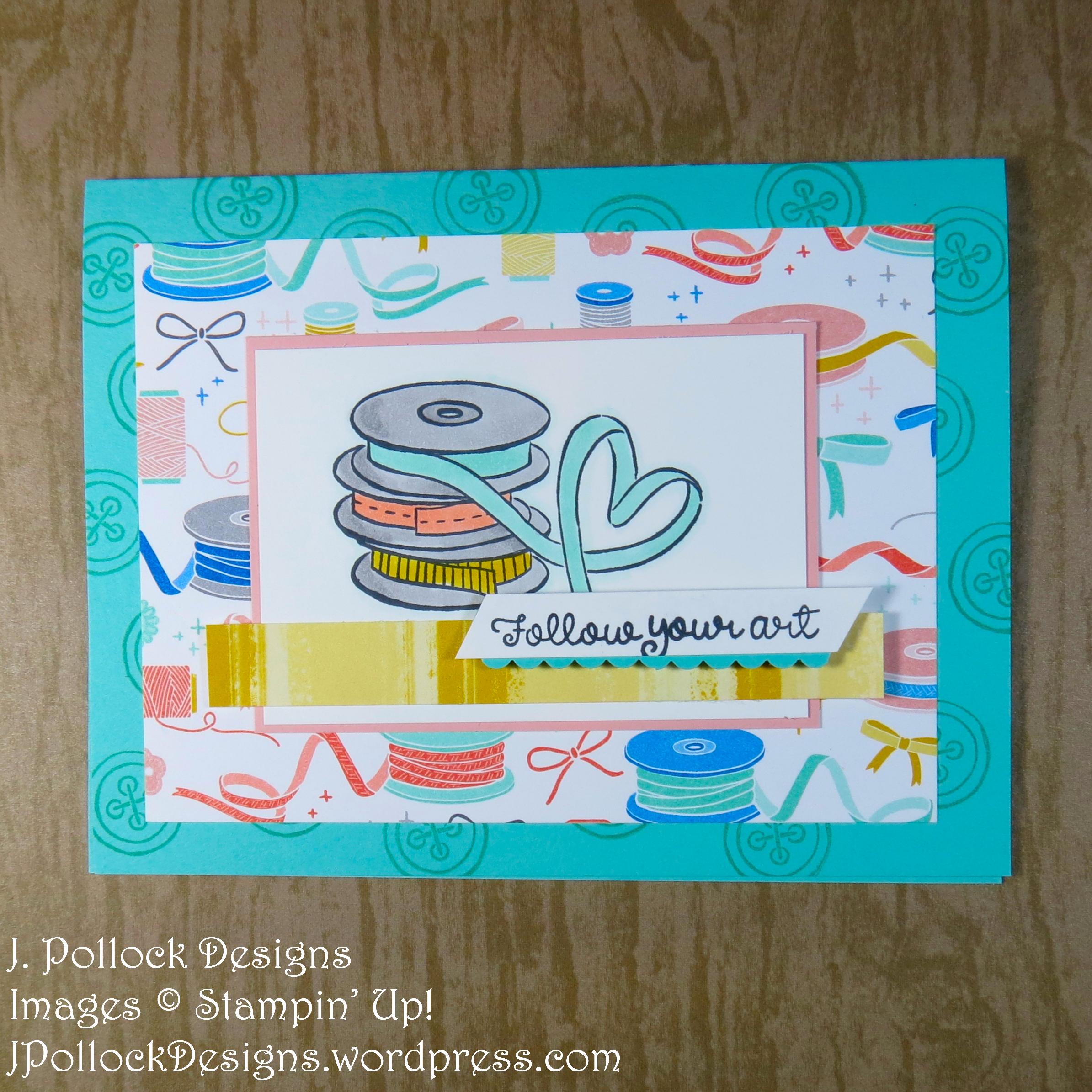 J. Pollock Designs - Stampin' Up! - #MinneapolisOnStage2019