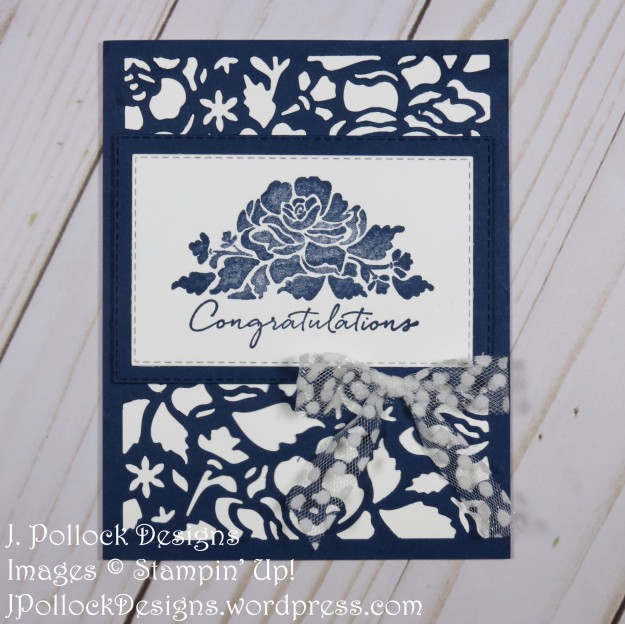 J. Pollock Designs - Stampin' Up! - Floral Phrases, Detailed Floral